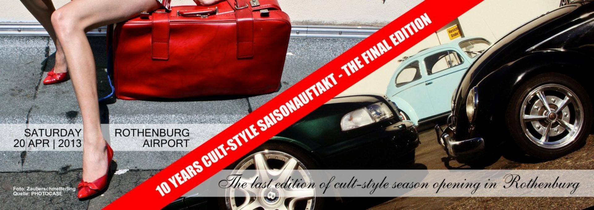 cult-style SAISONAUFTAKT - The Final Edition 2013