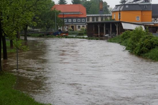 Hochwasser Seifhennersdorf
