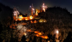 Neujahr in Oybin